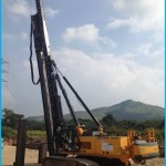 Banut 555 fixed leader piling rig